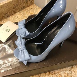 Gucci Shoes - Gucci Clodine peep toe pump